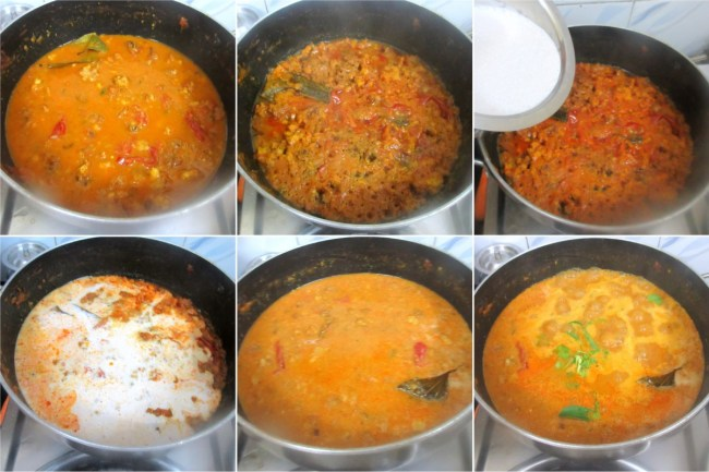 How to make Vada Curry 4