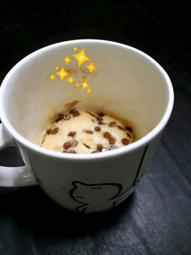 Moist Vanilla Mug Cake