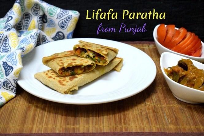 Lifafa Paratha