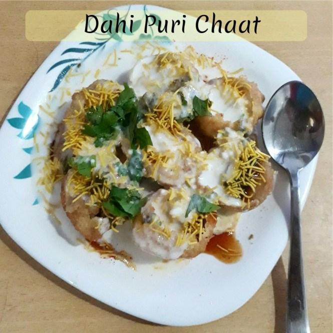 Dahi Puri Chaat