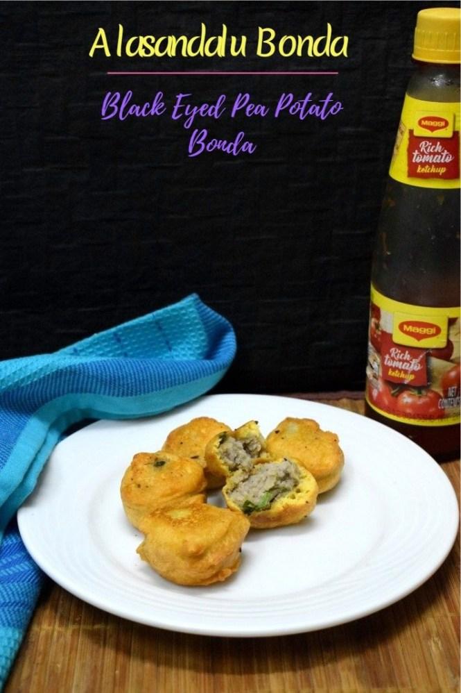 How to make Alasandalu Bonda