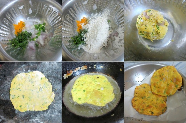 How to make Maharashtrian Poori 1