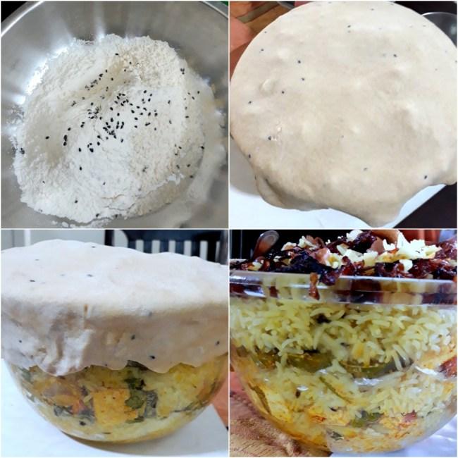 Baking the Parda Biryani