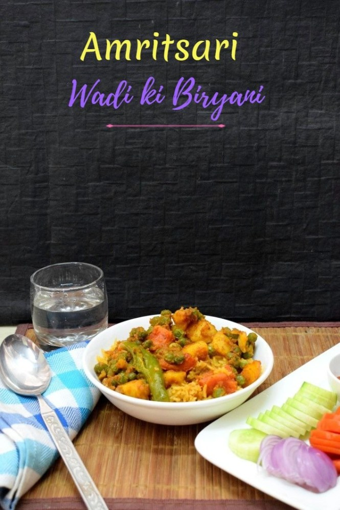 How to make Amritsari Wadi ki Biryani