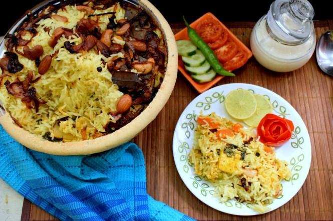 Vegetable Parda Biryani