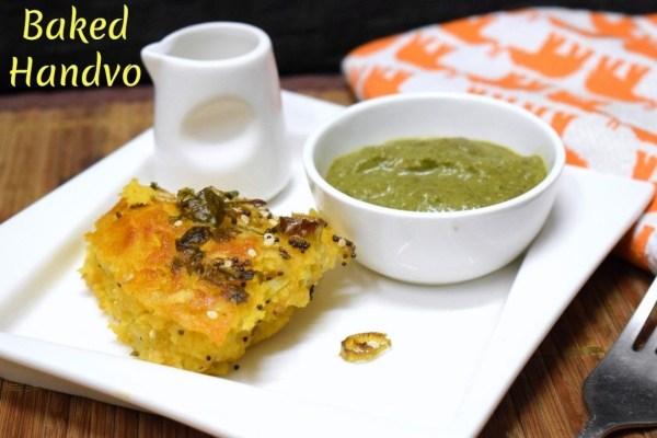 Baked Handvo Recipe
