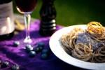 Rezept Schnelle Spaghetti Soße Feta Käse Heidelbeeren Thymian Knoblauch