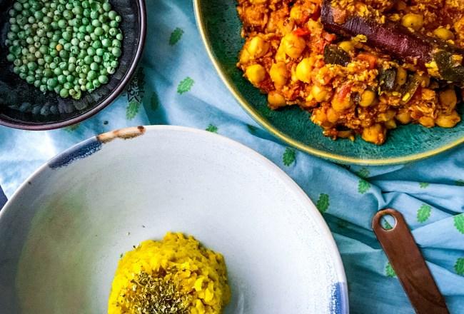 Rezept Chana Masala indisch Kichererbsen lecker vegan vegetarisch einfach Spicy love foodblog