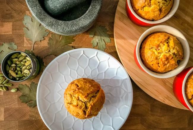 Rezept saftige Kokos-Möhrenküchlein zuckerfrei natürlich ohne butter spicy love foodblog einfach Ostern