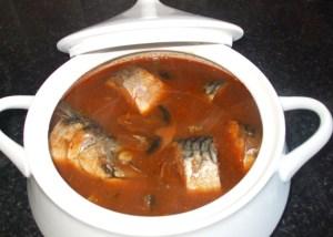 fresh mackerel light soup