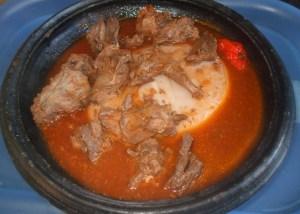 fufu with rabbit light soup