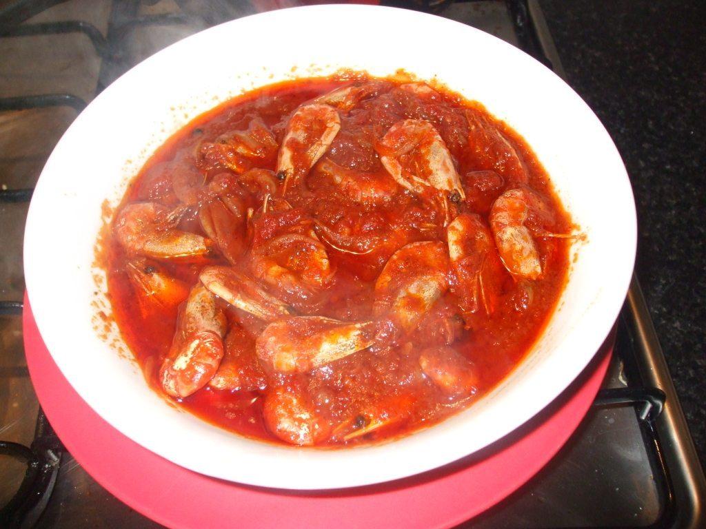Prawn in Tomato Gravy