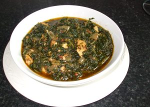 Whole Spinach Stew