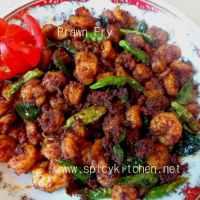 Easy Prawns Fry |Chemmeen Porichathu