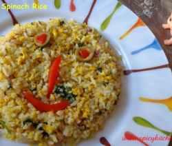 Egg-SpinachRice