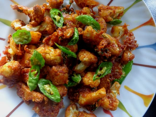 Gobi Fry | Crispy Cauliflower fry recipe