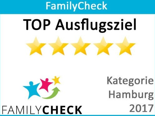 FamilyChecks TOP Ausflugsziel 2017