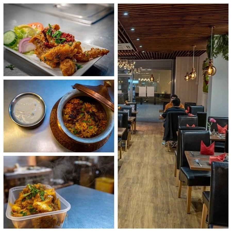 spicy tadka indian restaurant and caterer in basingstoke