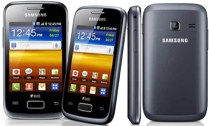Galaxy Y Duos s6102 Best 5 Budget Samsung Android Smartphones Under Price of R.s 10000 for 2013