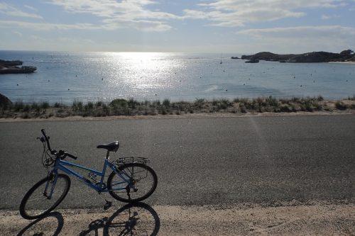 Mein geliehenes Fahrrad auf Rottnest Island