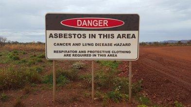 laut den Behörden ist es immer noch gefährlich