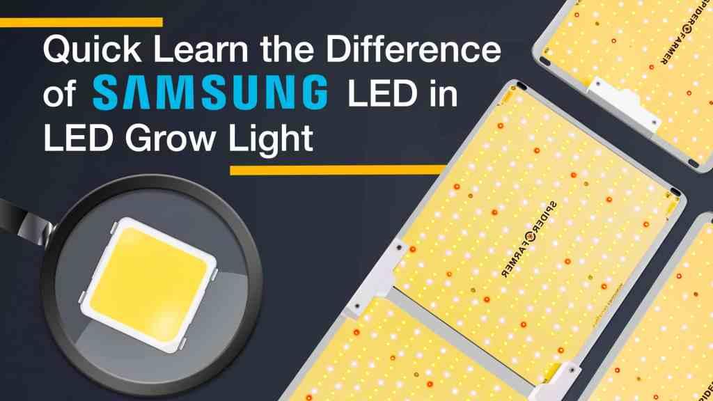 Samsung Diodes Led Grow Light