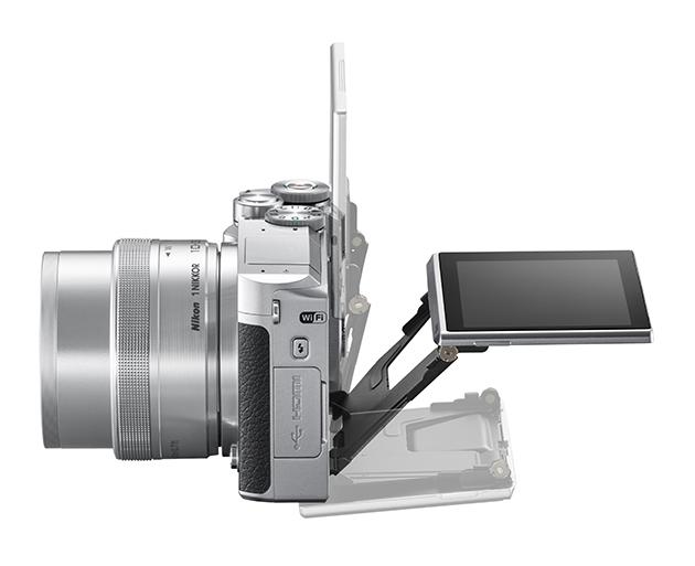 Nikon 1 J5 laterale