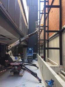 Spider lift hire Straight boom lift