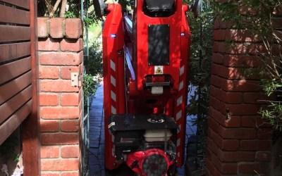 New 18.93 Zeus spider lift hire Melbourne.