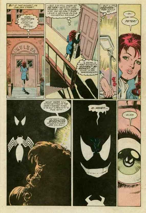 Amazing Spider-Man 299 Venom Cameo