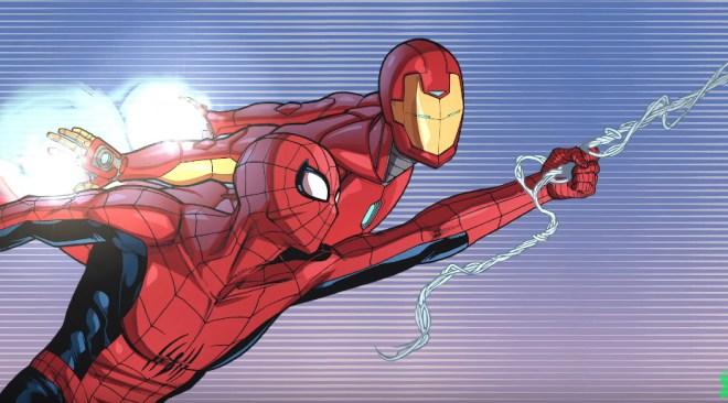 Spider-Man & Iron Man In Training Day Videos