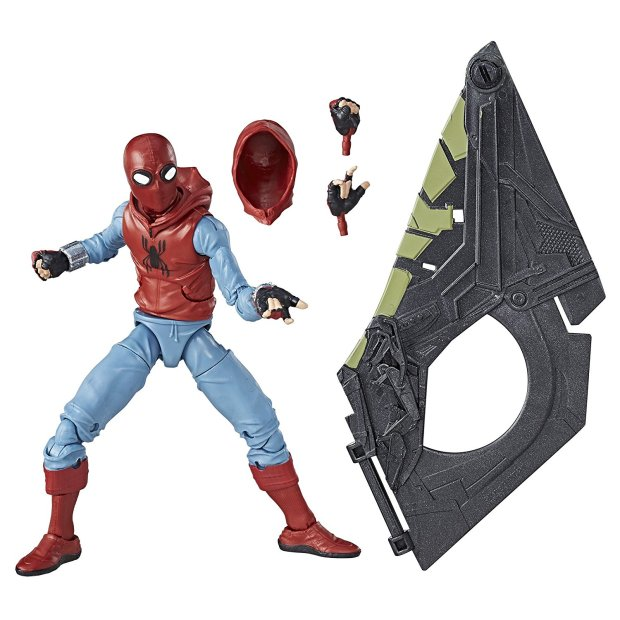 Spider-Man Homecoming Homemade Suit Figure