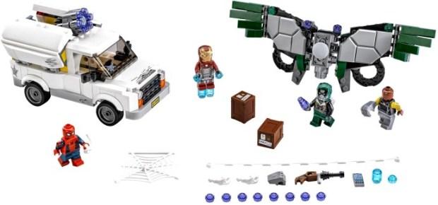 Beware the Vulture Spider-Man LEGO set