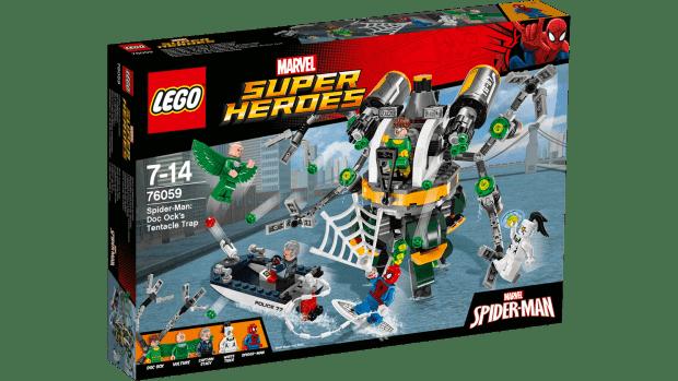 Spider-Man Doc Ock's Tentacle Trap LEGO set
