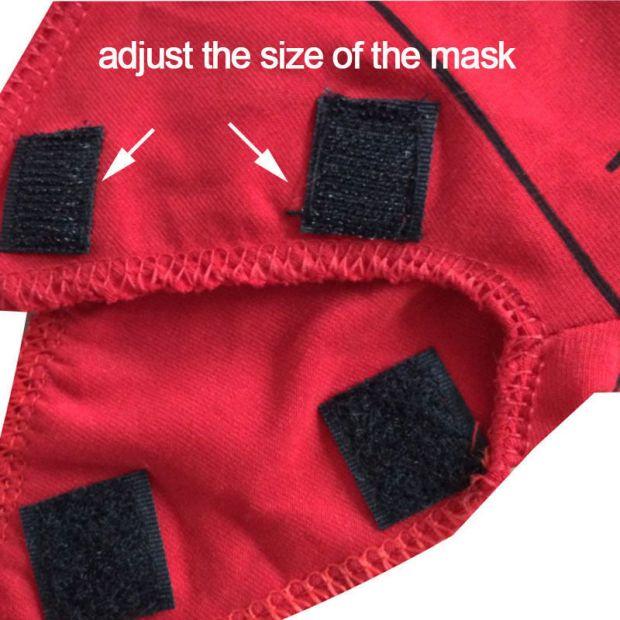 Velcro Spider-Man Mask