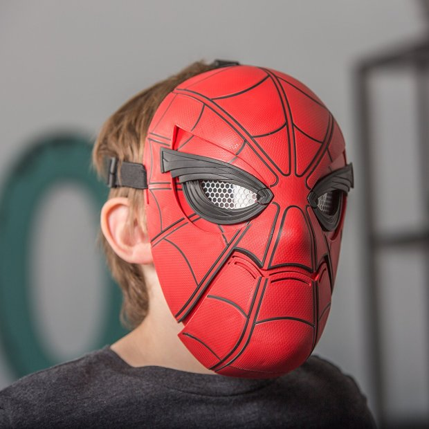 Spider-Man Mask with Moving Eyes