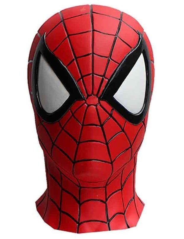 Rubber Spider-Man Mask