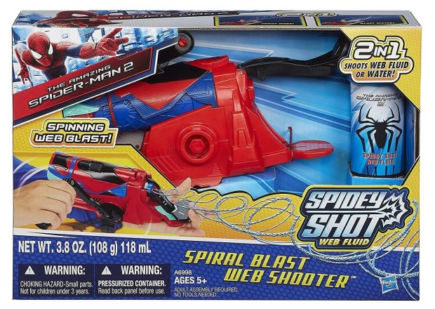 Amazing Spider-Man Spiral Blast Web Shooter