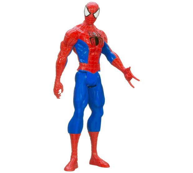 Ultimate Spider-Man Figure (Web Warriors Titan Hero)
