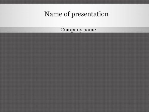 Download Free Grey Pattern Powerpoint Template For Presentation