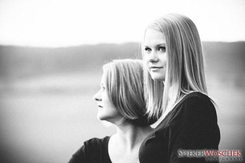Mutter & Tocher Foto-Shooting