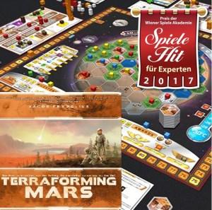 Spiele Hit für Experten - Terraforming Mars