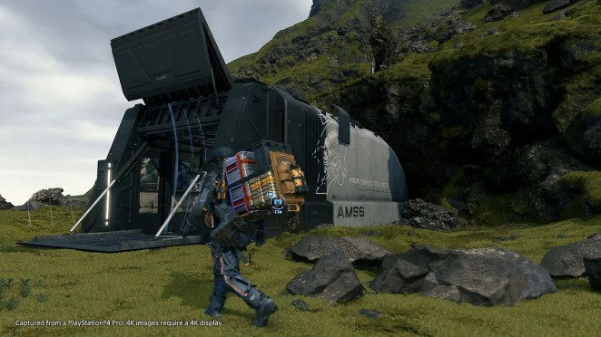 Death Stranding on PS4