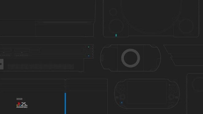 #25YearsOfPlay Wallpaper: Desktop - Dark