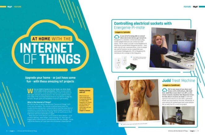 At home with the Internet of Things