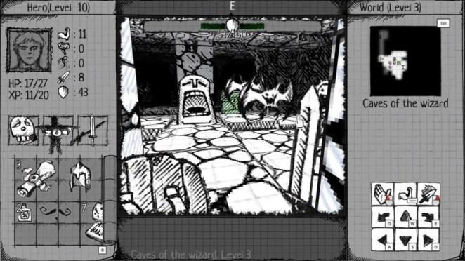 Next Week on Xbox: Neue Spiele vom 9. bis 13. November: Drawngeon: Dungeons of Ink and Paper