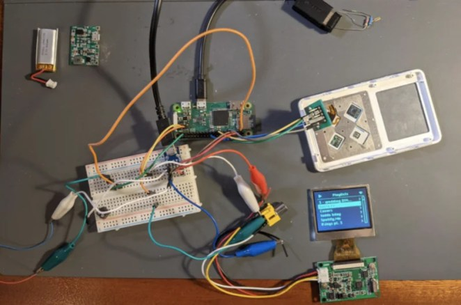 Installing the C-based haptic code on Raspberry Pi Zero, and connecting Raspberry Pi, display, headers, and leads