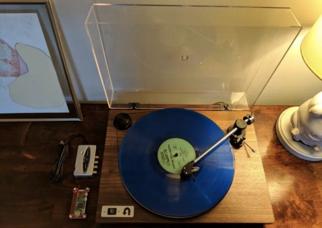 Guy previously used Raspberry Pi to stream albums around his home