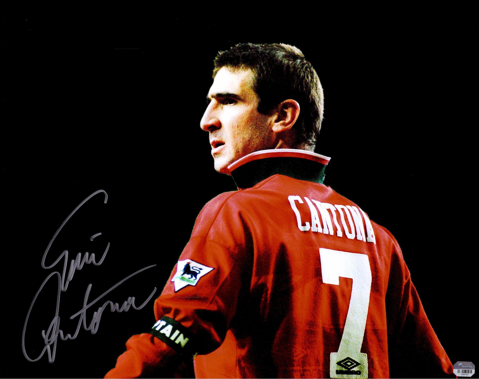 Han avslutade karriären i manchester. Umbro Manchester United Trikot 7 Eric Cantona 1994/95 Rot ...