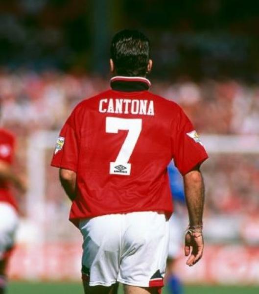 Ce maillot manchester united a été signé par eric cantona le 8 avril 2021 à martigues, france. Umbro Manchester United camiseta 7 Eric Cantona 1994/95 ...